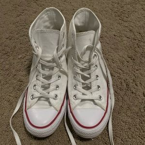 White Converse ❕✨
